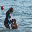 Daniela Santanchè, vacanze al Twiga: partite a racchettoni e bagni in mare23