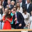 Kate Middleton e William nel box reale a Wimbledon: duchessa sfoggia vestito rosso45