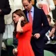 Kate Middleton e William nel box reale a Wimbledon: duchessa sfoggia vestito rosso18