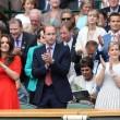 Kate Middleton e William nel box reale a Wimbledon: duchessa sfoggia vestito rosso13