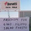 Filippo Calcagno, Salvatore Failla, Fausto Piano, Gino Pollicardo. I 4 italiani rapiti in Libia01