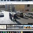 Napoli su Google Maps: sporcizia, senza casco.11