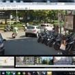 Napoli su Google Maps: sporcizia, senza casco.7