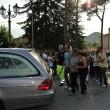 Pesaro: Ismaele Lulli, parenti e amici ai funerali 2