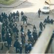 FOTO-Sequenza della morte di Carlo Giuliani. Piazza Alimonda, Genova, 20 luglio 2001