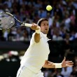 Wimbledon 2015, Novak Djokovic primo finalista: 3-0 a Gasquet