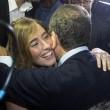 Ignazio Marino abbraccia Maria Elena Boschi alla Festa dell'Unità FOTO 3