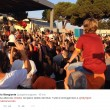 Calciomercato As Roma: Dzeko a Fiumicino, decine di tifosi lo accolgono1