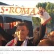 Calciomercato As Roma: Dzeko a Fiumicino, decine di tifosi lo accolgono2