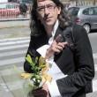 """Casamonica, Paolini a funerale: """"Un fiore per Vittorio""""2"""