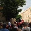 Incidente nel centro di Messina utilitaria contro auto Carabinieri FOTO3