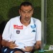 L 'allenatore del Napoli, Maurizio Sarri (Ansa)
