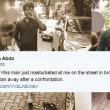 Si masturba in strada davanti a donna: lei lo fotografa e...
