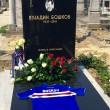 Sampdoria sulla tomba di Vujadin Boskov, oggi. Qualcuno ci era già andato...FOTO