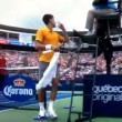 "VIDEO YouTube, Novak Djokovic: ""Arbitro, qualcuno fuma erba"""