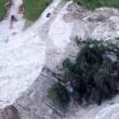 Frana uccide in Cadore (Belluno): travolto parcheggio, 3 morti sotto acqua e fango5