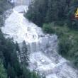Frana uccide in Cadore (Belluno): travolto parcheggio, 3 morti sotto acqua e fango8