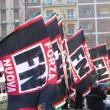 Mantova, corteo Forza Nuova anti migranti: scontri con polizia
