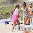 Maria Elena Boschi in spiaggia a Formentera1