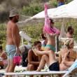 Maria Elena Boschi in spiaggia a Formentera15