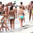 Maria Elena Boschi in spiaggia a Formentera3