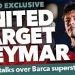 Calciomercato, Manchester United: colpaccio Neymar?