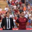 VIDEO YouTube - As Roma: presentazione Totti, Dzeko, Salah3