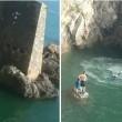 VIDEO YouTube - Si tuffa da scogliera alta 20 metri e... 01