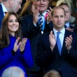 Kate Middleton tifosa di rugby in tribuna con William06