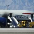 Las Vegas, prende fuoco volo British Airways per Londra FOTO3