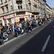 Marcia a piedi profughi siriani per fuggire i campi di Orban7