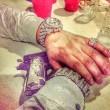 Narcos messicani, FOTO web: pistole dorate, Ak 47, soldi1