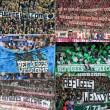 Rifugiati benvenuti striscioni tifosi Bundesliga
