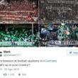 Rifugiati benvenuti striscioni tifosi Bundesliga2