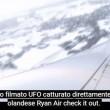 Ufo sfiora aereo Ryanair passeggero lo filma (4)