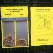Votare con mozziconi l'idea per tenere pulita Londra FOTO5