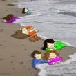 Immigrazione. Aylan, bimbo curdo annegato: omaggio artisti 7