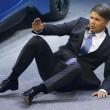 malore presidente Bmw a salone auto1