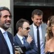Maria Elena Boschi, tubino in pizzo al matrimonio portavoce 12