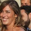 Maria Elena Boschi, tubino in pizzo al matrimonio portavoce 13