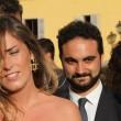Maria Elena Boschi, tubino in pizzo al matrimonio portavoce 14