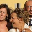 Maria Elena Boschi, tubino in pizzo al matrimonio portavoce 15
