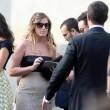 Maria Elena Boschi, tubino in pizzo al matrimonio portavoce 7