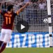 Florenzi, gol commentato da Carlo Zampa e Sandro Piccinini
