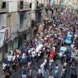 Gennaro Cesarano, folla ai funerali blindati a Napoli FOTO 2