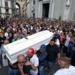 Gennaro Cesarano, folla ai funerali blindati a Napoli FOTO 3