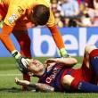 Leo Messi lesione al ginocchio: fuori due mesi