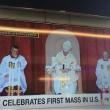 Papa Francesco, prima messa negli Usa con...colpo di sonno?
