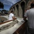Pompei, tac sui calchi vittime: denti perfetti2