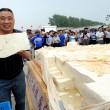 Cina, tofu gigante da 8 tonnellate2